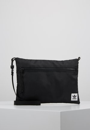SIMPLE POUCH - Across body bag - black