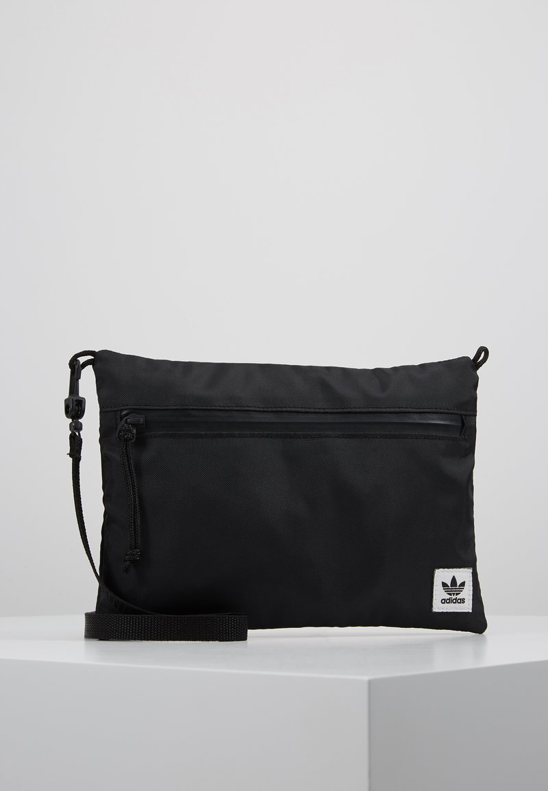 adidas Originals - SIMPLE POUCH - Across body bag - black