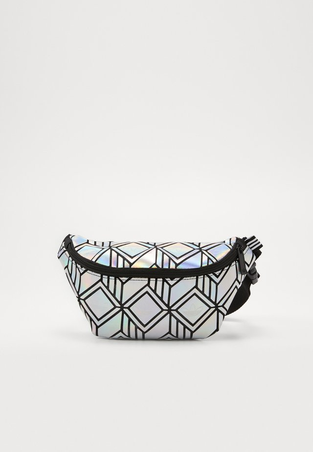 FOR HER SPORTS INSPIRED WAISTBAG - Ledvinka - silver