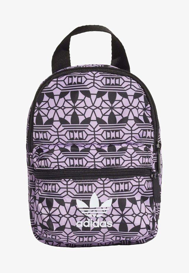 MINI GRAPHIC BACKPACK - Rucksack - purple