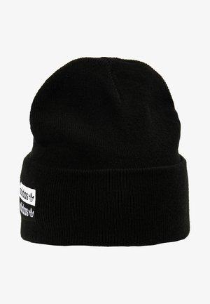 CUFF  - Beanie - black/white