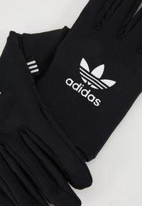 adidas Originals - TECHY GLOVES - Rękawiczki pięciopalcowe - black/white - 3