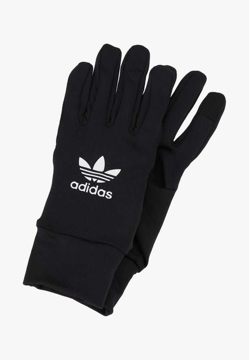 adidas Originals - TECHY GLOVES - Sormikkaat - black/white