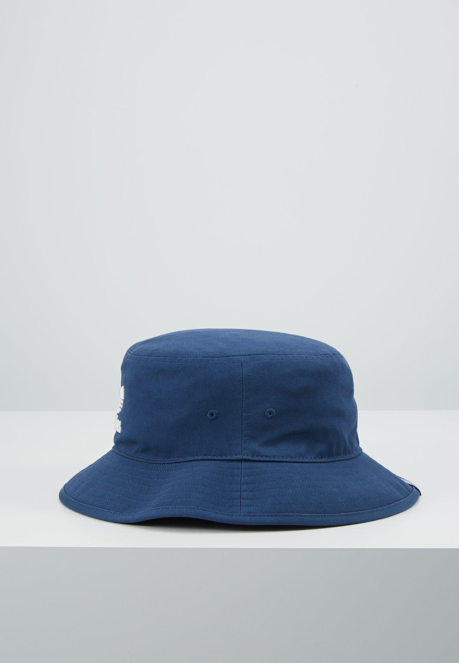 adidas Originals ADICOLOR BUCKET HAT - Kapelusz - marine/white