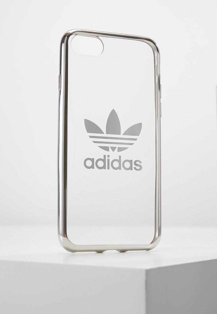 adidas Originals - OR CLEAR CASE  - Etui na telefon - silver