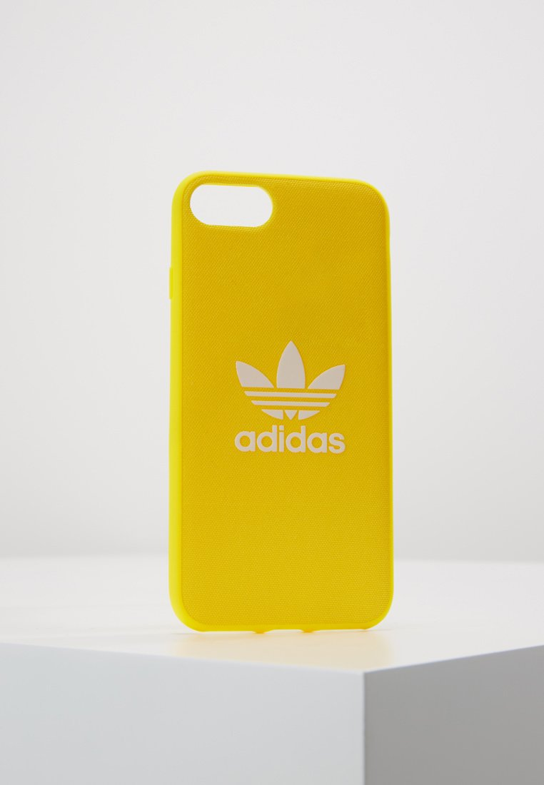 adidas Originals - ADICOLOR MOULDED CASE IPHONE - Mobiltasker - yellow/white