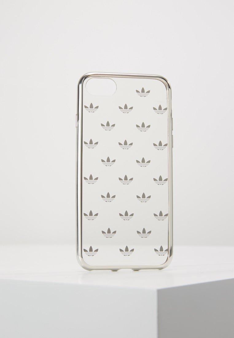 adidas Originals - CLEAR CASE - Mobiltasker - transparant/silver-coloured