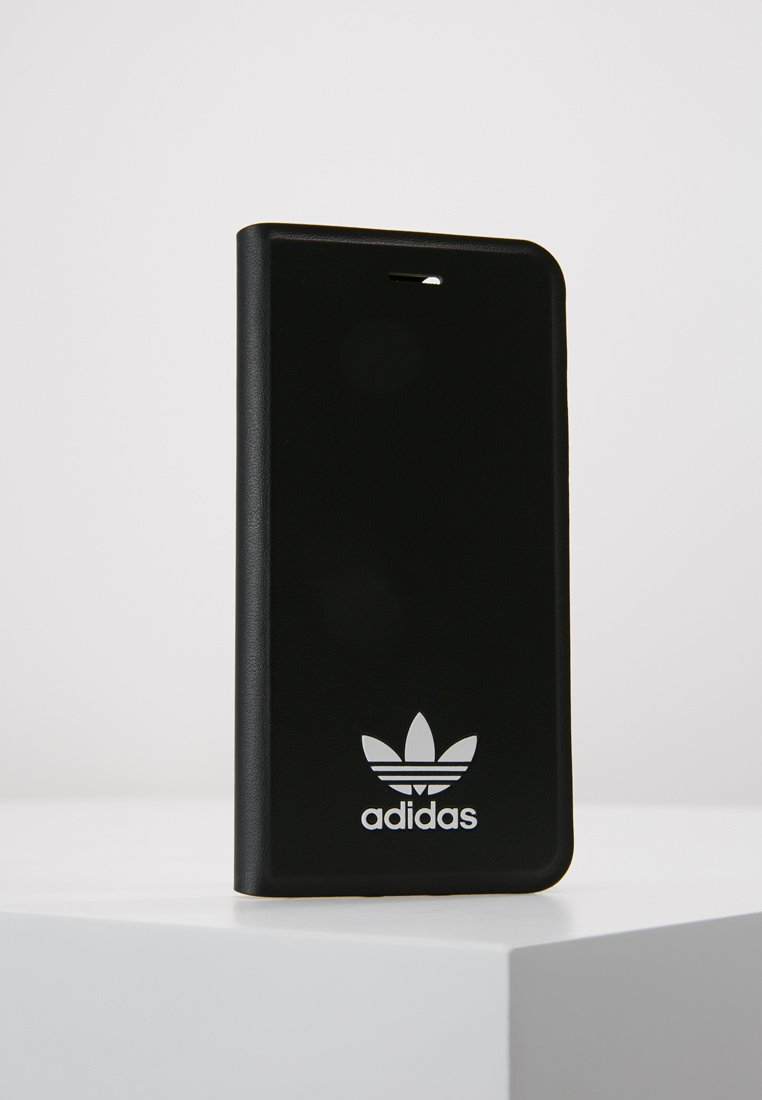 adidas Originals - BOOKLET CASE IPHONE - Mobiltasker - black/white