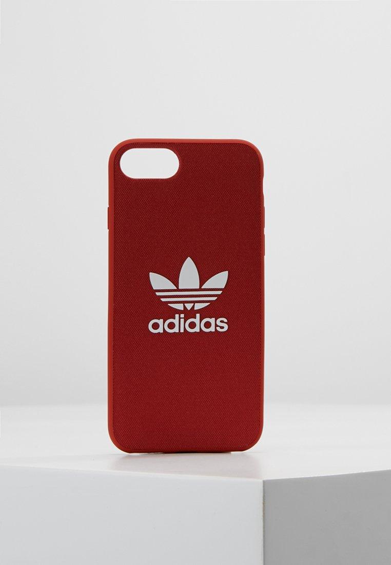 adidas Originals - MOULDED CASE CANVAS  IPHONE 6/6S/7/8 - Mobilveske - shift orange/white