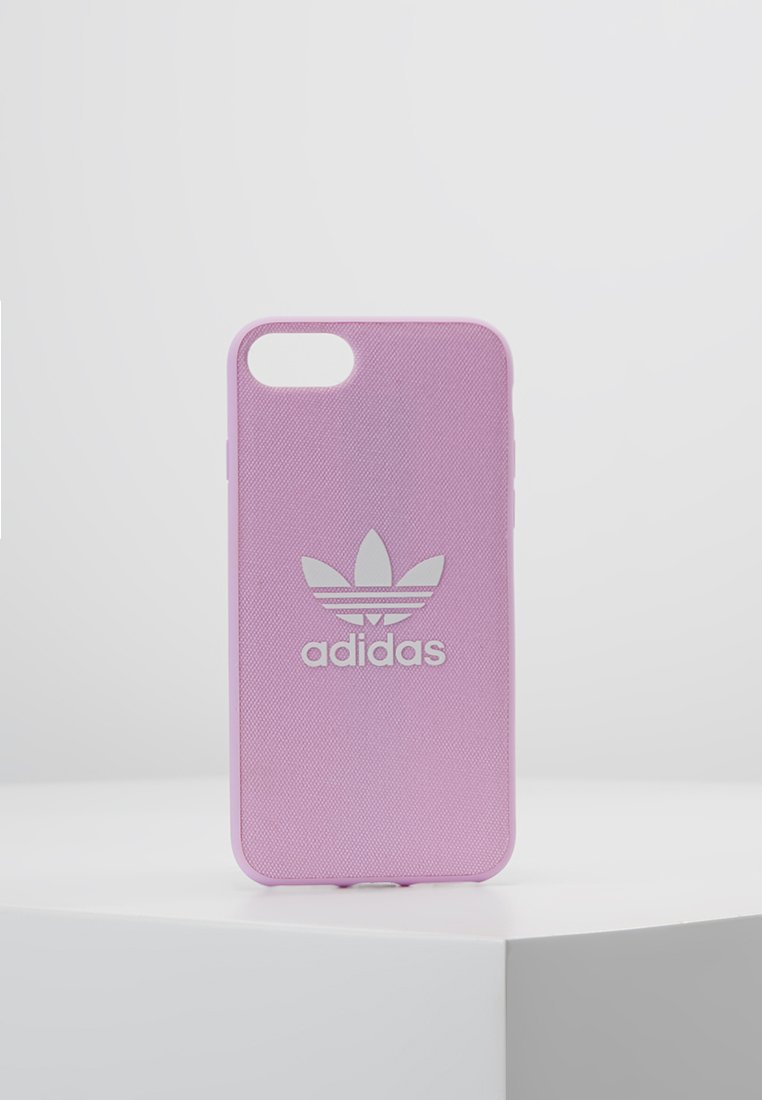 adidas Originals - MOULDED CASE CANVAS  IPHONE 6/6S/7/8 - Portacellulare - clear pink/white