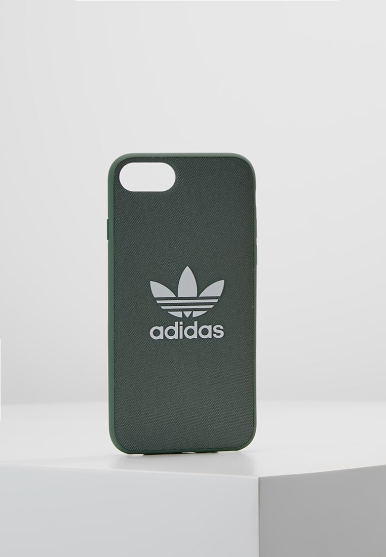 adidas Originals - MOULDED CASE CANVAS  IPHONE 6/6S/7/8 - Etui na telefon - trace green/white