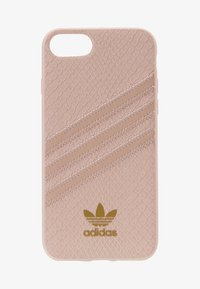 adidas Originals - MOULDED CASE SNAKE FOR IPHONE 6/6S/7/8 - Phone case - clear pink/gold metallic - 1