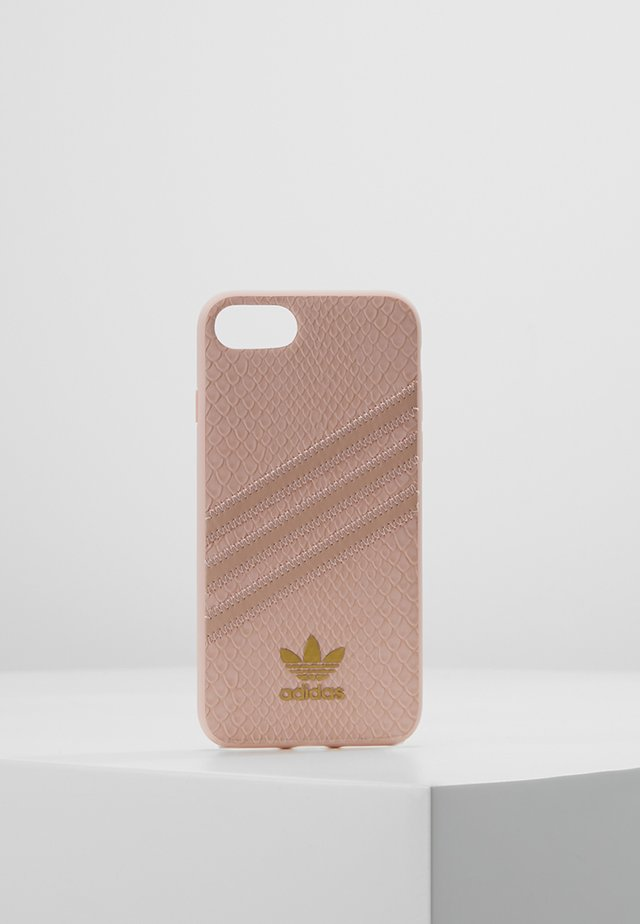 MOULDED CASE SNAKE FOR IPHONE 6/6S/7/8 - Mobilväska - clear pink/gold metallic
