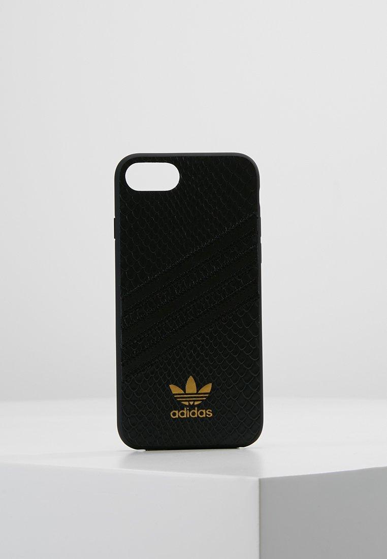 adidas Originals - MOULDED CASE SNAKE FOR IPHONE 6/6S/7/8 - Mobiltasker - black/gold metallic