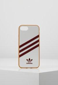 adidas Originals - MOULDED CASE FOR IPHONE - Etui na telefon - white/collegiate burgundy - 0
