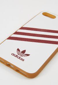 adidas Originals - MOULDED CASE FOR IPHONE - Etui na telefon - white/collegiate burgundy - 2
