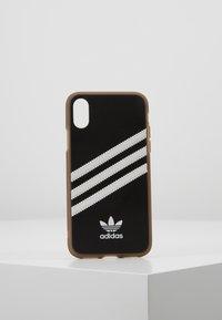 adidas Originals - MOULDED CASE GUMSOLE FOR IPHONE X/XS - Etui na telefon - black/white - 0