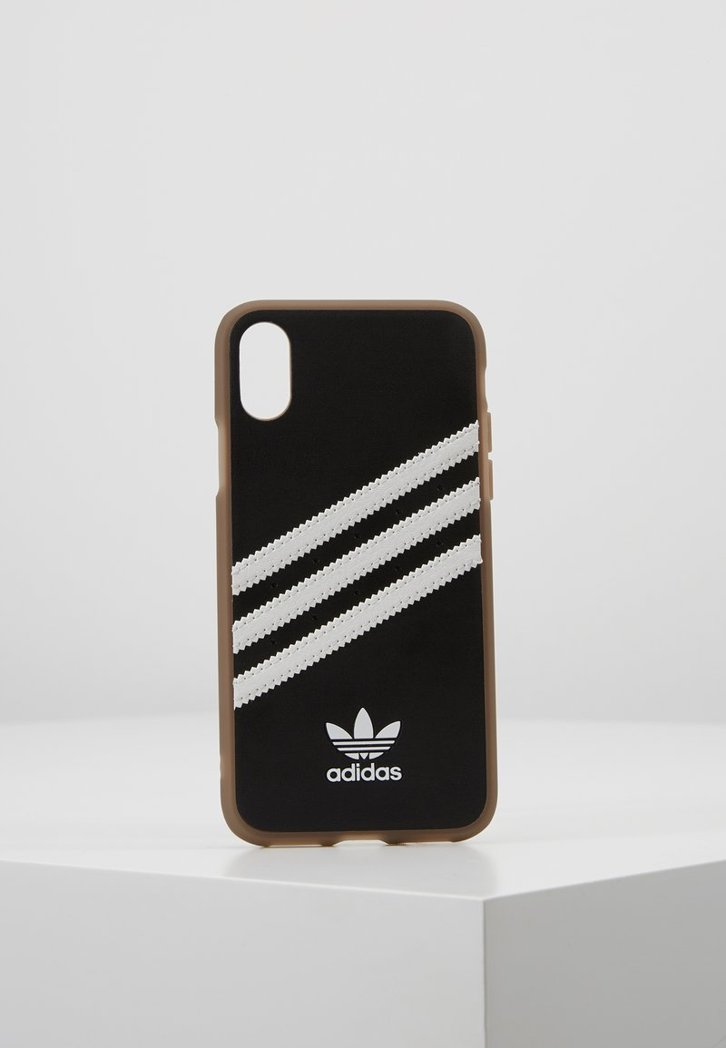 adidas Originals - MOULDED CASE GUMSOLE FOR IPHONE X/XS - Etui na telefon - black/white