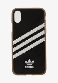 adidas Originals - MOULDED CASE GUMSOLE FOR IPHONE X/XS - Etui na telefon - black/white - 1