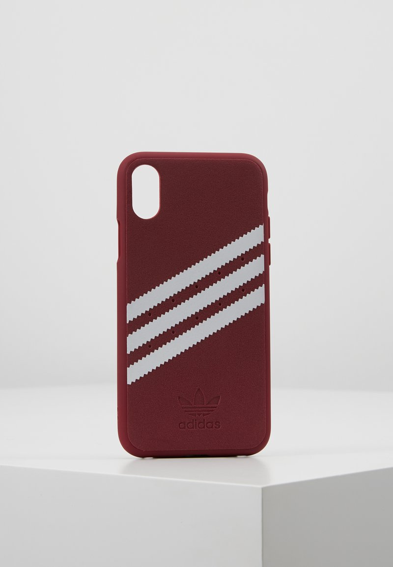 adidas Originals - MOULDED CASE FOR IPHONE X/XS - Mobiltasker - collegiate burgundy
