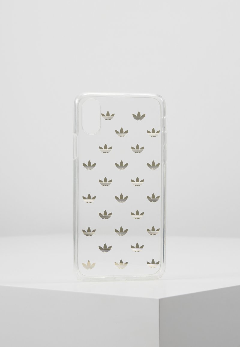 adidas Originals - SNAP CASE ENTRY FOR IPHONE X/XS - Etui na telefon - gold-colored