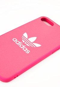adidas Originals - MOULDED CASE FOR IPHONE - Obal na telefon - shock pink - 2