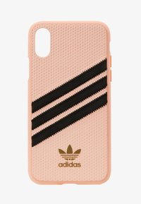 adidas Originals - MOULDED CASE FOR IPHONE X/XS - Etui na telefon - clear pink - 1