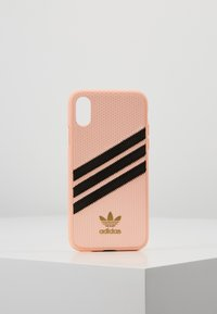 adidas Originals - MOULDED CASE FOR IPHONE X/XS - Etui na telefon - clear pink - 0