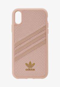 adidas Originals - MOULDED CASE SNAKE - Phone case - pink - 1