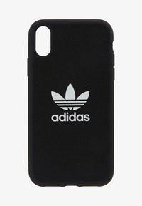 adidas Originals - ADIDAS MOULDED CASE CANVAS - Mobiltasker - black - 1