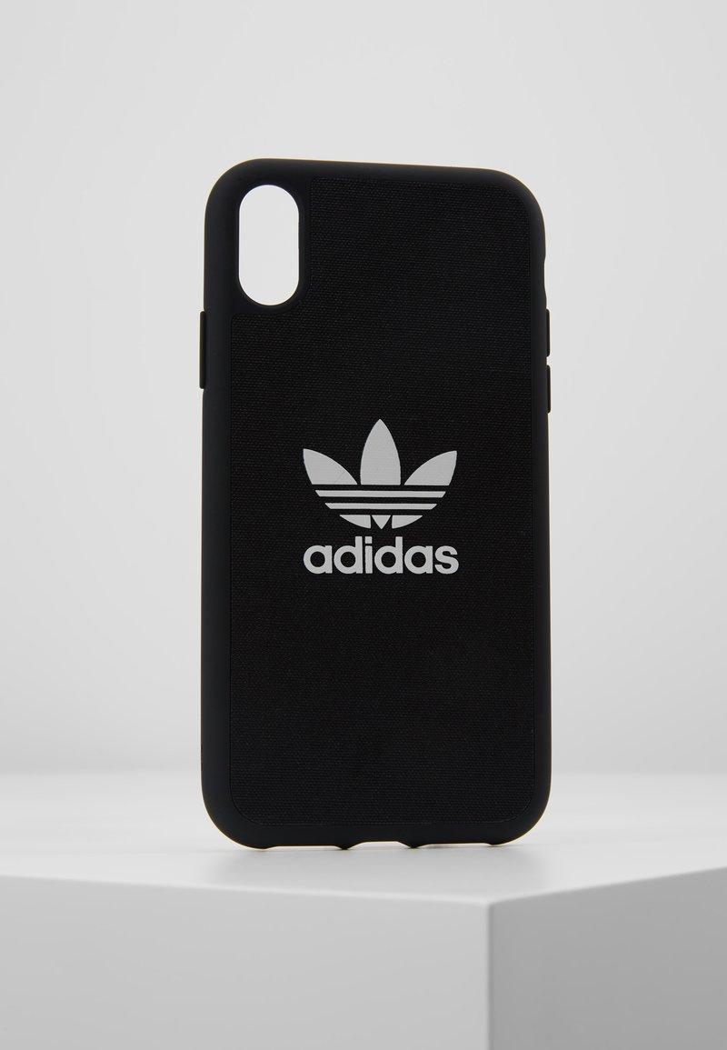 adidas Originals - ADIDAS MOULDED CASE CANVAS - Mobiltasker - black