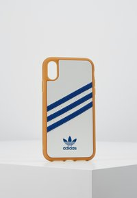 adidas Originals - ADIDAS MOULDED CASE - Etui na telefon - white/collegiate navy - 0