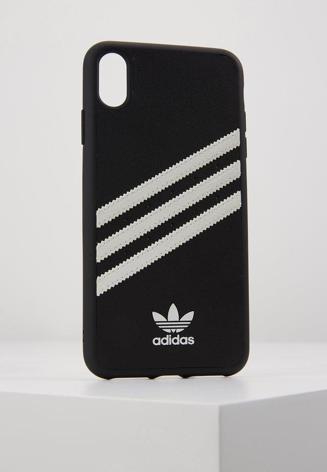 ADIDAS OR MOULDED CASE IPHONE XS MAX - Obal na telefon - black / white