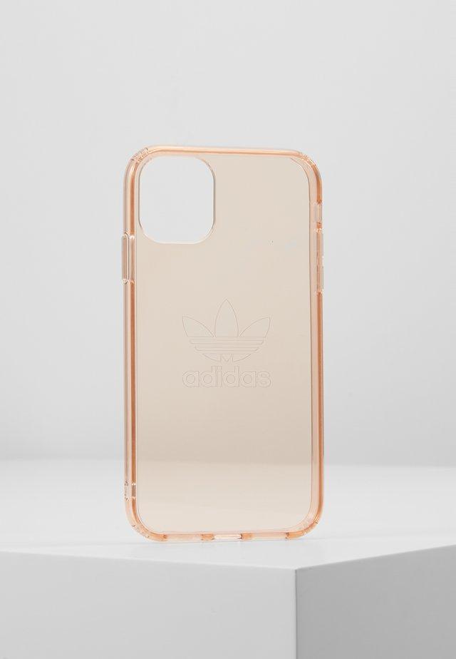 ADIDAS OR PROTECTIVE CLEAR CASE BIG LOGO - Obal na telefon - rose gold