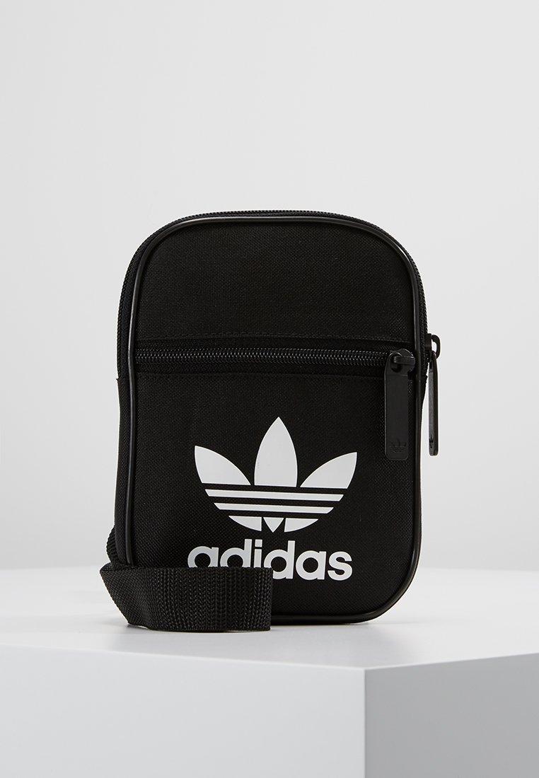 adidas Originals - FESTIVAL TREFOIL - Olkalaukku - black/white