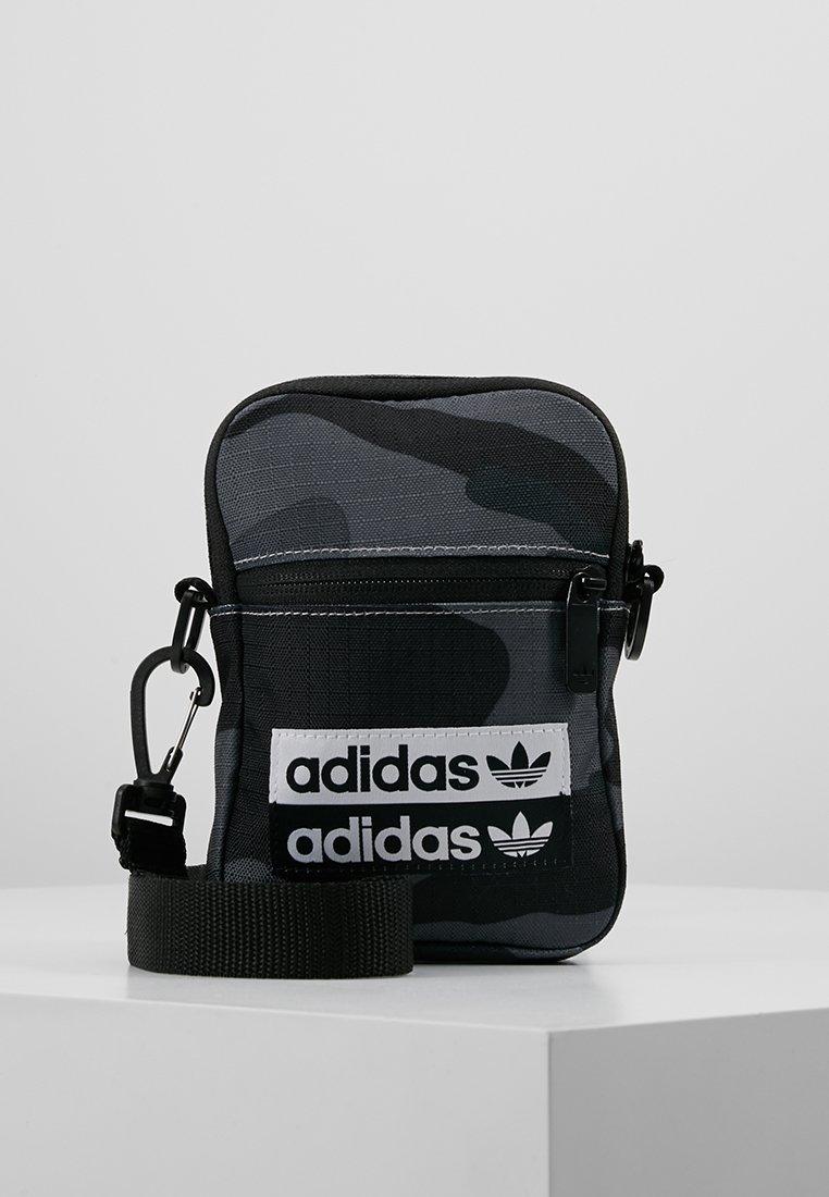 adidas Originals - FEST - Torba na ramię - dark grey/black