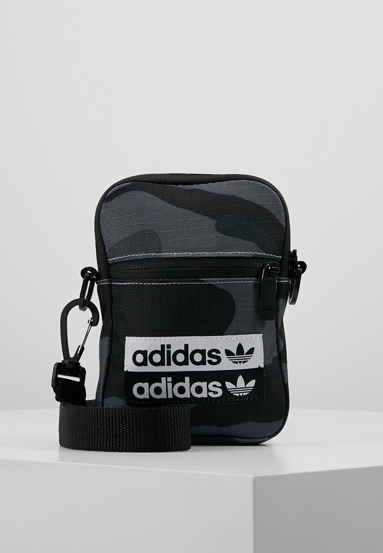 adidas Originals - FEST - Across body bag - dark grey/black