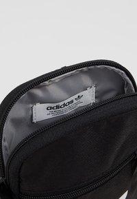 adidas Originals - FEST BAG TREF - Across body bag - black - 4