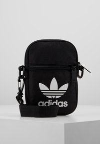 adidas Originals - FEST BAG TREF - Skuldertasker - black - 0