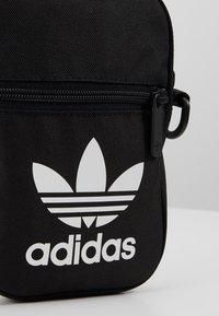 adidas Originals - FEST BAG TREF - Across body bag - black - 7