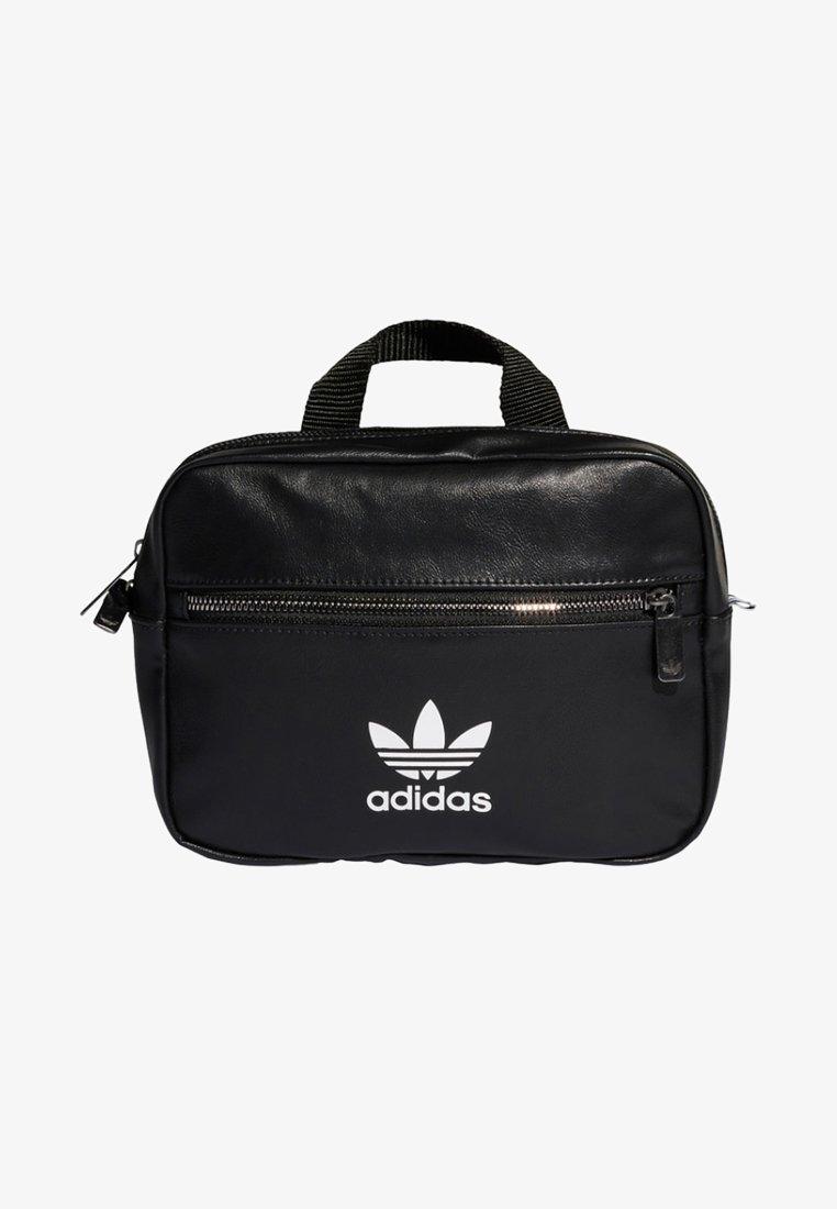 adidas Originals - ADIDAS ORIGINALS MINI AIRLINER RUCKSACK - Across body bag - black