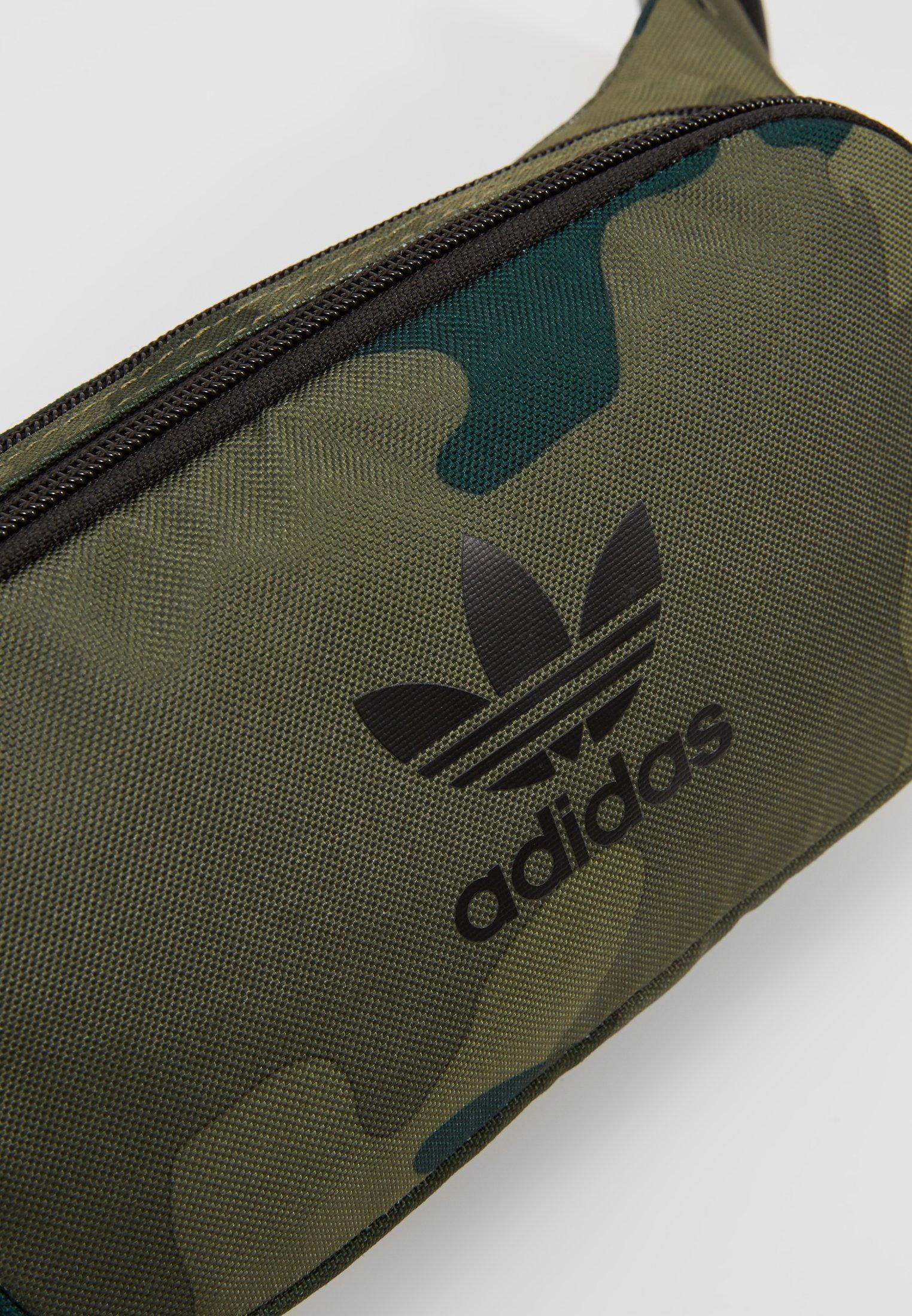 adidas Originals CAMO WAISTBAG - Bältesväska - green