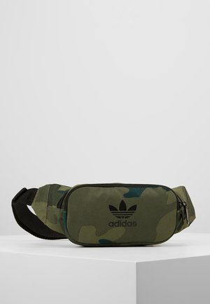 CAMO WAISTBAG - Ledvinka - green