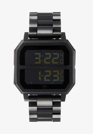 ARCHIVE MR2 - Digitaluhr - all black