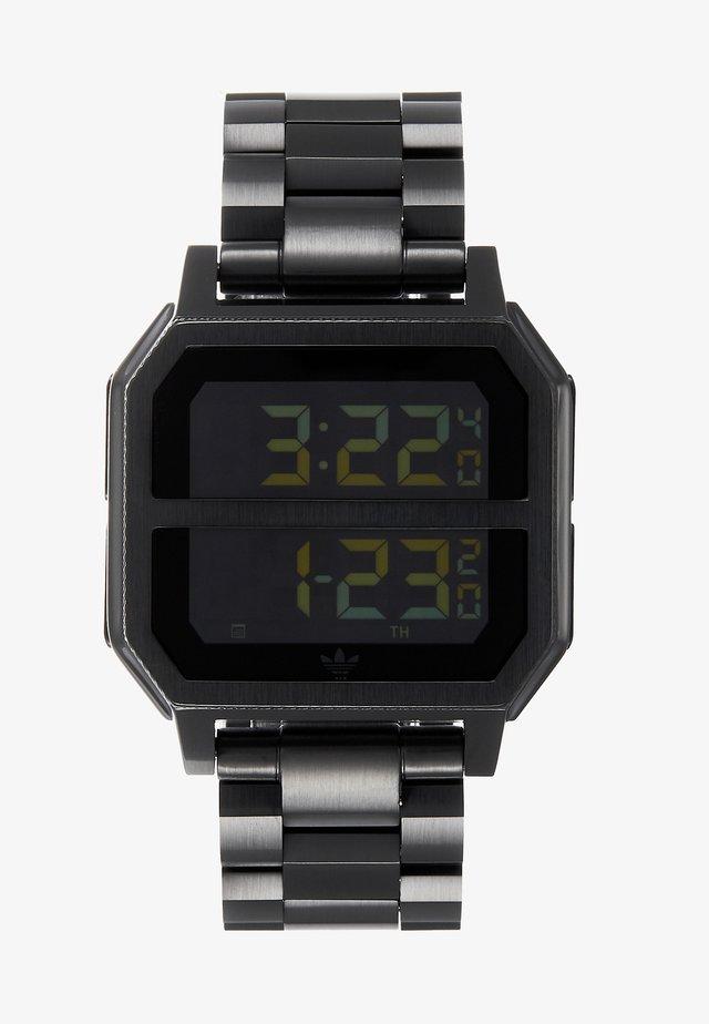 ARCHIVE MR2 - Digitální hodinky - all black
