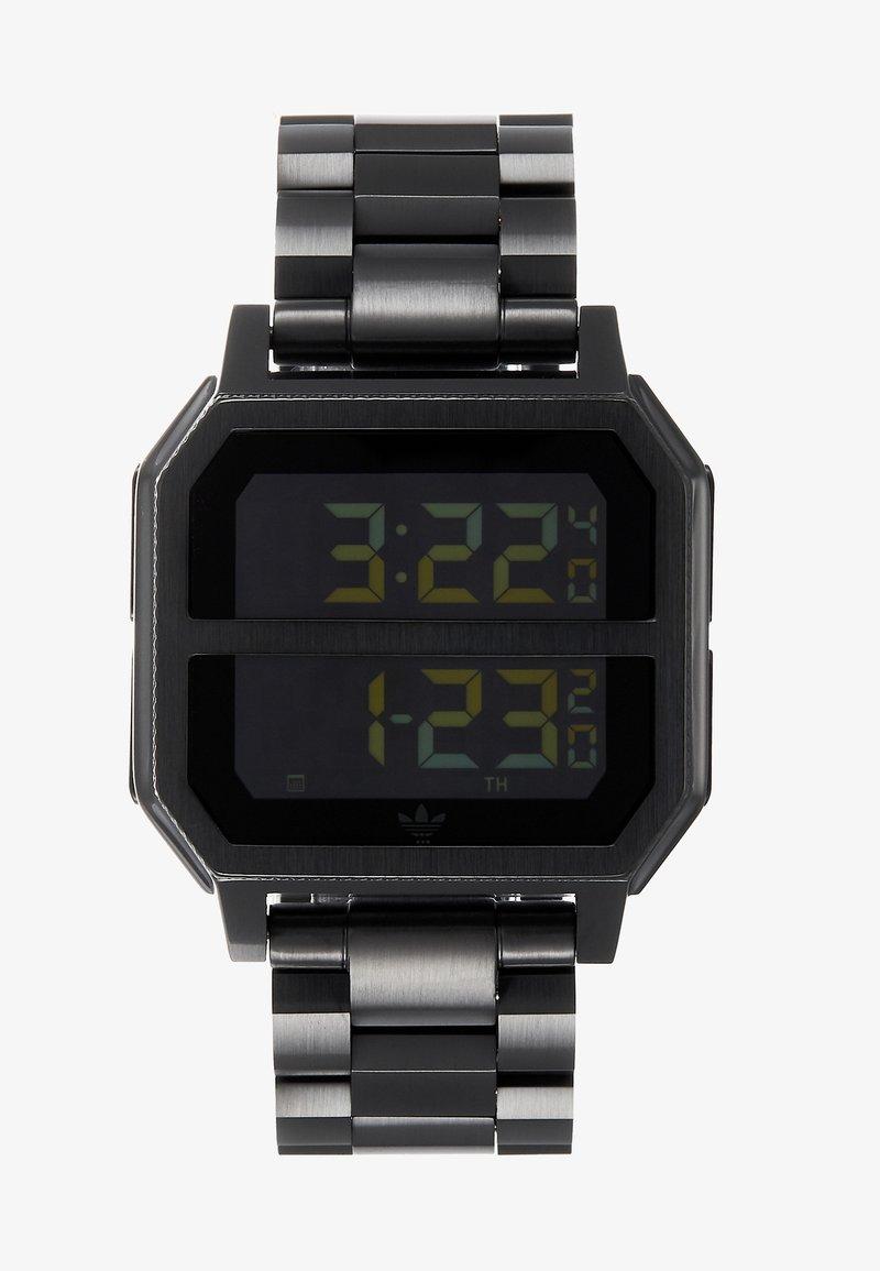 adidas Originals - ARCHIVE MR2 - Digitaluhr - all black