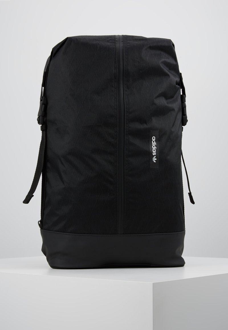 adidas Originals - FUTURE ROLL TOP - Reppu - black