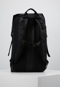 adidas Originals - FUTURE ROLL TOP - Reppu - black - 2