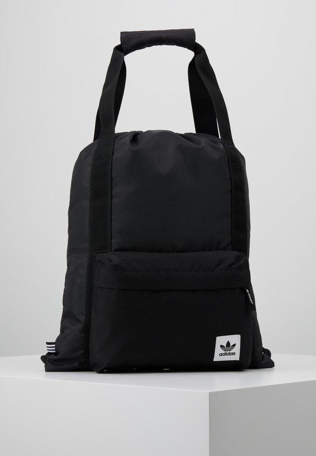 GYMSACK - Taška spříčným popruhem - black