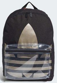 adidas Originals - ADICOLOR LARGE TREFOIL CLASSIC BACKPACK - Reppu - black/gold - 3